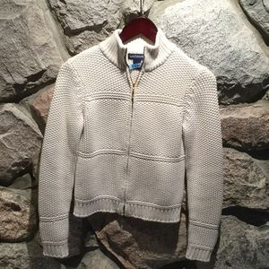 Anne Taylor Cream Color Sweater
